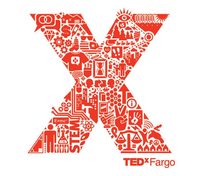 TEDxFargo Jeff Knight Graphic Design