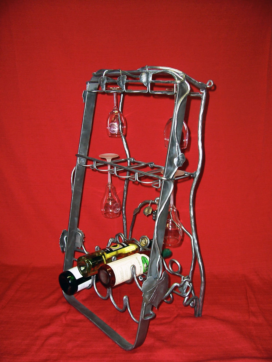 Wine Rack Eg Ironworks Squamish B C